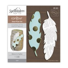 Spellbinders Contour Birds of a Feather Steel Rule Die